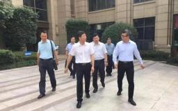 杭州科技局邵立春局长一行赴博济滨江智谷进行科技调研