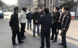 宝山区委常委、副区长王益群莅临上海博济智汇园 检查园区疫情防控工作