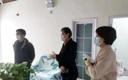 闵行区副区长莅临博济F1088 检查园区疫情防控工作