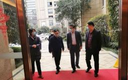 下城区领导视察火炬孵化博济滨江智谷疫情防控工作