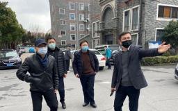 上海市宝山区相关领导莅临博济上海智汇园