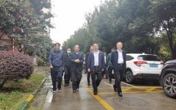南京市雨花台领导一行莅临火炬孵化·博济聚创科技园