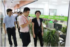 重庆市九龙坡区区委书记一行到访重庆雨林创客邦