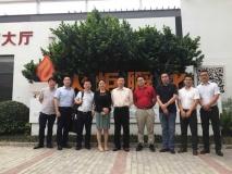 江苏省投资管理有限责任公司总经理唐宁一行到访火炬孵化